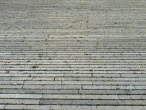 Texture de perspective de trottoir Photo stock