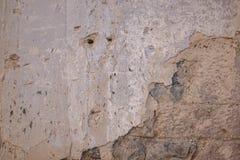 Texture de plâtre d'un vieux mur de la maison Image stock