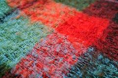 Texture de plaid Photo stock