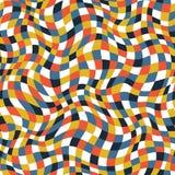 Texture de plaid de couleur Images libres de droits