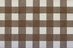 Texture de plaid de tissu Photo stock