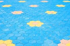 Texture de plancher Photographie stock libre de droits
