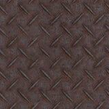 Texture de plancher de panneau en métal de Tileable Photo libre de droits