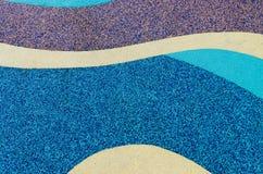 Texture de plancher en caoutchouc de couleur Images libres de droits