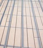 Texture de plancher extérieure Photos libres de droits