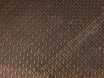Texture de plancher rouillé en métal photos stock