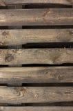 Texture de planches de palette Photographie stock