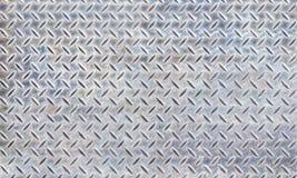 Texture de plaque en acier de diamant Images stock