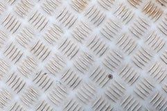 Texture de plaque métallique Photographie stock libre de droits