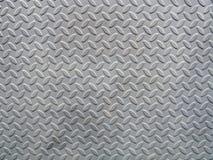 Texture de plaque métallique emboutie Images stock