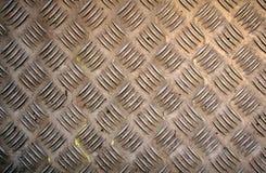 Texture de plaque métallique grunge Image libre de droits