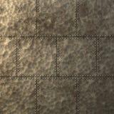 Texture de plaque métallique punk de vapeur Photo stock