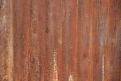 Texture de plaque métallique rouillée photos stock