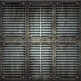 Texture de de plaque métallique photographie stock libre de droits