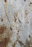 Texture de plaque m?tallique rouill?e photos stock