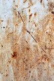 Texture de plaque m?tallique rouill?e photos libres de droits