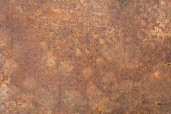 Texture de plaque m?tallique rouill?e photographie stock libre de droits