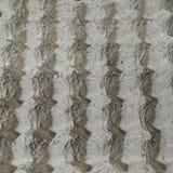 Texture de plateau de carton d'oeufs Photos stock
