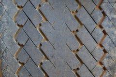 Texture de pneu Image stock