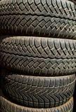 Texture de pneus Image libre de droits
