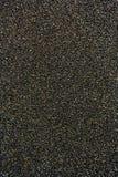 Texture de polissage noire de papier sablé Images stock