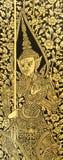 Texture de porte d'église de Bouddha photos stock