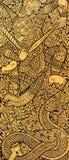 Texture de porte d'église de Bouddha images stock