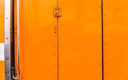 Texture de porte d'autobus scolaire Photo stock