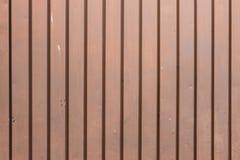 Texture de porte en métal de Brown Photographie stock