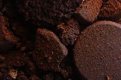 Texture de poudre de café photos libres de droits