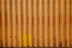 Texture de récipient de rouille Photos libres de droits