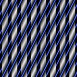 Texture de réseau abstrait sur un fond noir Photographie stock