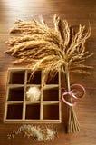 Texture de riz Photos libres de droits