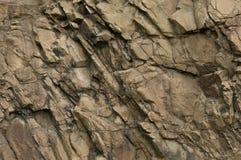 Texture de roche volcanique Photographie stock libre de droits