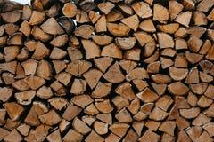 Texture de rondin de bois de chauffage fond confortable rural Concept naturel et organique photo stock