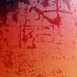 Texture de rouge de détresse Photographie stock libre de droits