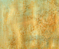 Texture de rouille d'Aqua Photo libre de droits