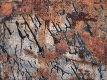 Texture de rouille en métal, fond grunge abstrait photo libre de droits