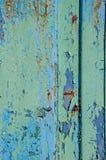 Texture de rouille en métal vieille Le fond est bleu, rougeâtre et vert clair images stock