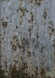 TEXTURE DE ROUILLE DE FER Photo stock