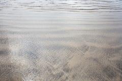 Texture de sable bali l'indonésie Images stock