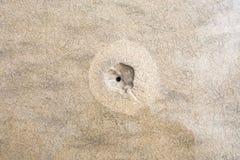 Texture de sable bali l'indonésie Image libre de droits