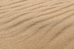 Texture de sable dans le désert image stock
