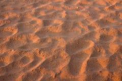 Texture de sable de désert Image stock