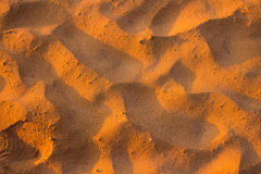 Texture de sable de désert Photos libres de droits