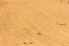 Texture de sable de désert Photographie stock libre de droits