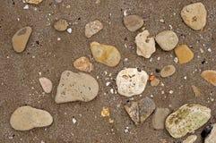 Texture de sable de mer image stock