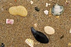 Texture de sable de mer image libre de droits