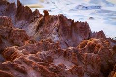 Texture de sable et d'argile Beau soulagement pour le fond photographie stock libre de droits