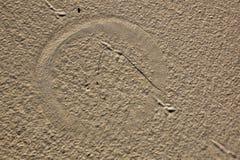Texture de sable pour le fond. Fin. Vue supérieure. Port Stephens. photographie stock libre de droits
